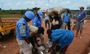 The UN Mission in South Sudan (UNMISS) provides protection to civilians fleeing recent violence in Wau.