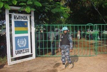 قاعدة تومبنغ التابعة لبعثة الأمم المتحدة في جنوب السودان، المصدر: الأمم المتحدة / بياتريس ماتيجوا