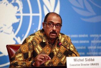 Mkurugenzi Mtendaji wa UNAIDS Michel Sidibe