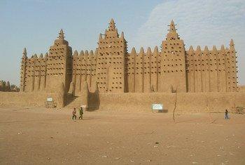 Le site des Villes anciennes de Djenné, au Mali. Photo : UNESCO / Francesco Bandarin