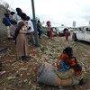 نازحون في قاعدة في بيت الأمم المتحدة التابع بعثة الأمم المتحدة في جنوب السودان ، في أعقاب تجدد الاشتباكات الأخيرة في جوبا. المصدر: الأمم المتحدة / إريك كانالستين