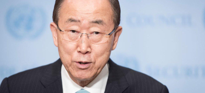 El Secretario General de la ONU, Ban Ki-moon. Foto ONU/Mark Garten