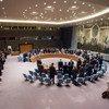El Consejo de Seguridad guarda un minuto de silencio en memoria de las víctimas del 14 de julio en Niza. Foto: ONU/Manuel Elias
