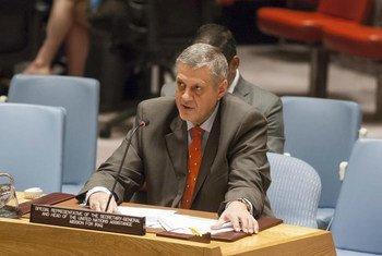 秘书长伊拉克事务特别代表扬·库比什。联合国图片/Loey Felipe
