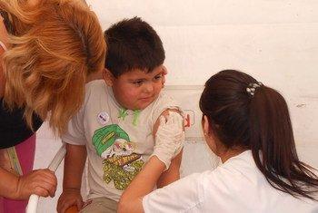 """التحصين ضد التهاب الكبد الوبائي """"بي"""" في الأرجنتين."""