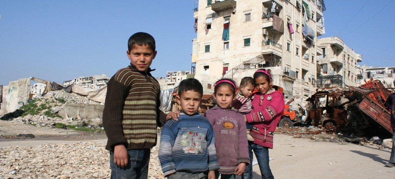 Destruction in Salah Ed Din Neighborhood.