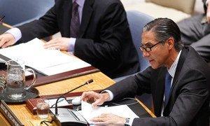 UN Assistant-Secretary-General Oscar Fernandez-Taranco addresses the UN Security Council and speaks about evolution of peacebuilding throughout the last decades.