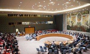 Le Conseil de sécurité de l'ONU. Photo ONU/Rick Bajornas