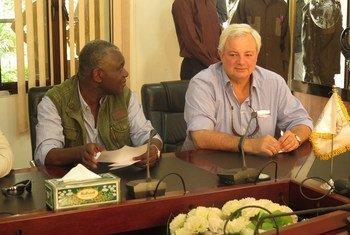 Стивен ОБрайен в Южном Судане