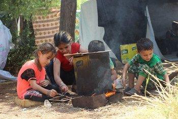 Дети в Алеппо.  Фото  ЮНИСЕФ