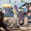 Refugiados sursudaneses en Uganda. Foto: ACNUR/Will Swanson