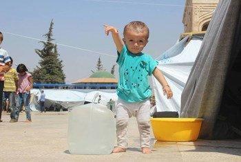 La guerra en Siria ha afectado a 8 millones de niños. Foto: UNICEF Siria/Khuder Al-Issa