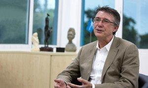 Marc Vincent, UN Children's Fund (UNICEF) Representative for Haiti.