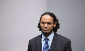 At the International Criminal Court (ICC) in The Hague, Ahmad Al Faqi Al Mahdi admitted guilt to the war crime relating to the destruction of historical and religious monuments in Timbuktu, (Mali), around 30 June 2012 and 11 July 2012.