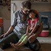 Familia desplazada de Mosul. Foto de archivo: ACNUR/Cingzir Yar