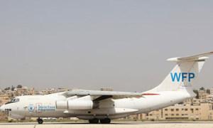 Un avion du PAM transportant de l'aide humanitaire (archive)