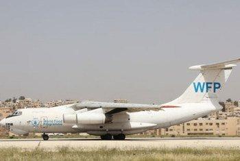 Avión del PMA . Foto: archivo PMA/Mogharaby