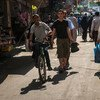 Улица в секторе Газа
