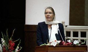 Deputy Special Representative for Afghanistan Pernille Kardel.