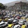 Circulation matinale dans le centre-ville de Kaboul, la capitale de l'Afghanistan. (archive)