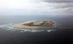 The marine reserve Papahanaumokuakea in Hawaii.