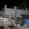 La capitale somalienne, Mogadiscio a été la cible de plusieurs attentats tels que cette attaque à la voiture piégée perpétrée à l'hôtel Banadir Beach le 25 août 2016. (archive)