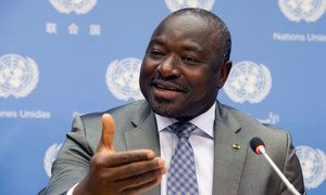 Executive Secretary of the Preparatory Commission for the Comprehensive Nuclear-Test-Ban Treaty Organization (CTBTO) Lassina Zerbo.