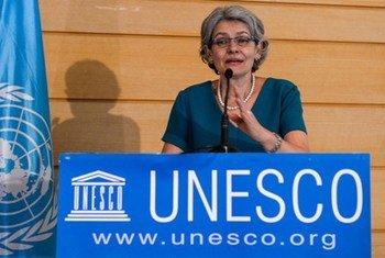 المديرة العامة لليونسكو إيرينا بوكوفا.