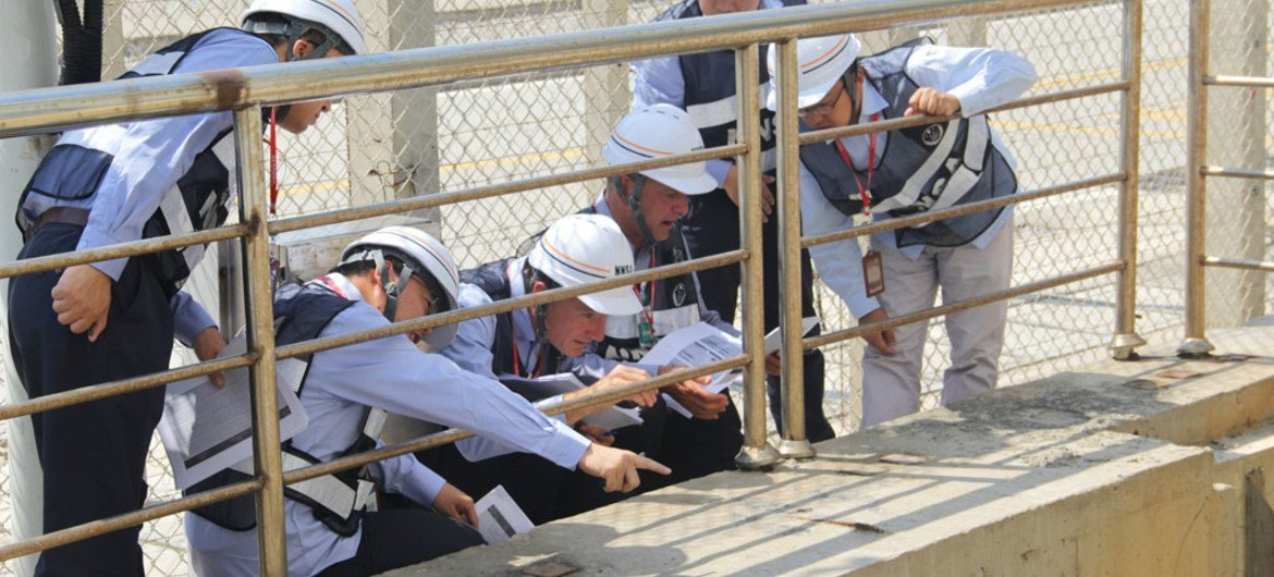 Members of the IAEA-led Integrated Regulatory Review Service (IRRS) and staff from the Chinese National Nuclear Safety Authority (NNSA) visit the Fuqing Nuclear Power Plant to review safety upgrades carried out as part of work to improve safety following the 2011 Fukushima accident in Japan.