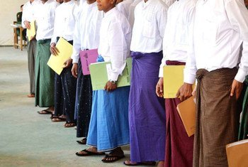 Pelo menos 924 crianças e jovens foram libertados do Tatmadaw desde 2012.