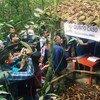 Puesto de capacitación de la Misión de la ONU en Colombia. Foto de archivo: Misión de la ONU en Colombia