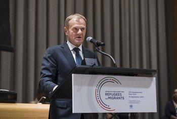 Дональд Туск, председатель Европейского совета. Фото ООН