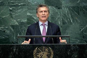 Presidente argentino, Mauricio Macri
