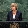 Prime Minister Theresa May of the United Kingdom of Great Britain and Northern Ireland addresses the general debate of the General Assembly's seventy-first session.