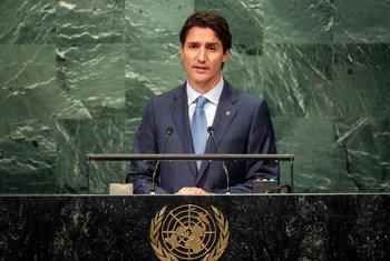 Премьер-министр Канады Джастин Трюдо Фото ООН/Чиа Пак