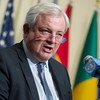 Stephen O'Brien, Under-Secretary-General for Humanitarian Affairs and Emergency Relief Coordinator. (file)