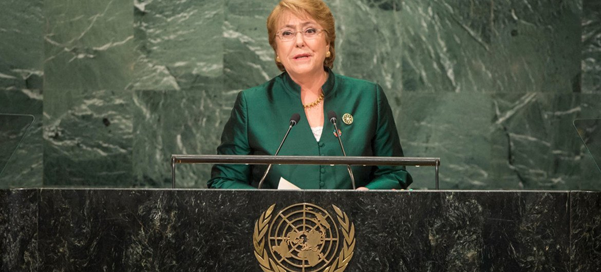 Image result for michelle bachelet un creative commons