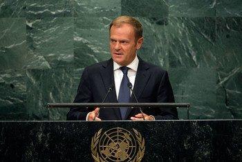 Председатель Европейского совета Дональд Туск. Фото ООН