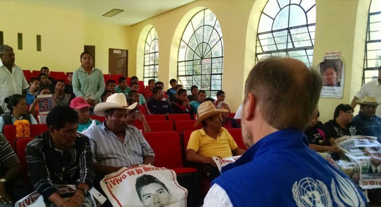 La  ONU condena el asesinato de un periodista y dos defensores de los derechos humanos en México