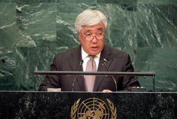 Erlan Idrissov, Minister for Foreign Affairs of the Republic of Kazakhstan, addresses the general debate of the General Assembly's seventy-first session.