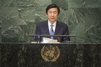 Yun Byung-se, Minister for Foreign Affairs of the Republic of Korea, addresses the general debate of the General Assembly's seventy-first session.