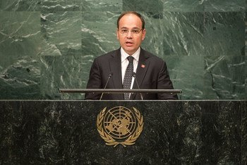 Bujar Nishani, President of the Republic of Albania, addresses the general debate of the General Assembly's seventy-first session.
