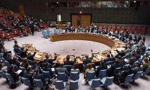 Réunion du Conseil de sécurité: Maintien de la paix et de la sécurité interntionales. Non-proliferation et désarmement nucléaire. Photo ONU/Loey Felipe