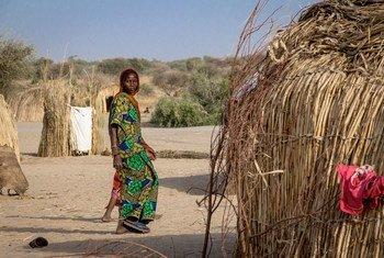 В странах бассейна озера Чад - 2,5 миллиона внутренне  перемещенных лиц.  Фото Управления ООН по координации гуманитарных вопрсов