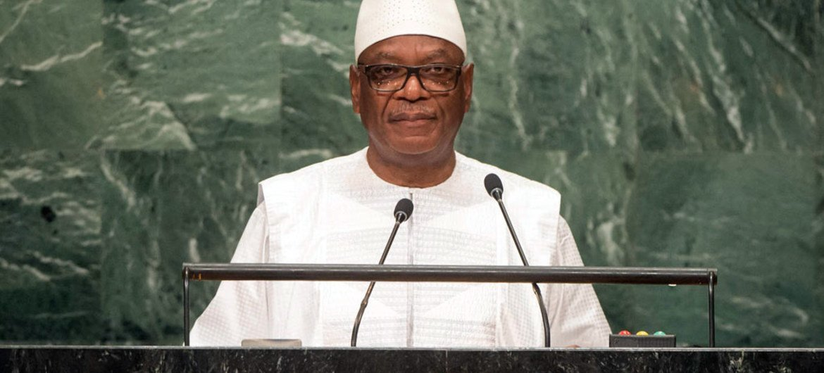 President Ibrahim Boubacar Keita of Mali addresses the general debate of the General Assembly's seventy-first session.