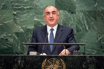 Министр иностранных дел Азербайджана Эльмар Мамедъяров Фото ООН/Чиа Пак
