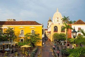Cartagena será sede de la ceremonia de firma del Acuerdo de Paz para Colombia. Foto: ONU/Rick Bajornas