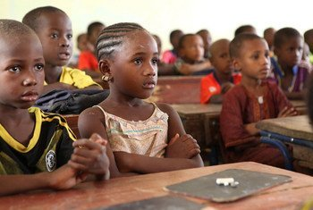 Des écoliers au Mali. Photo PAM Afrique de l'Ouest