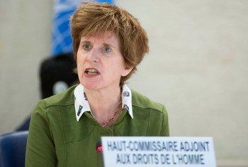 Kate Gilmore, Haut-Commissaire adjointe des Nations Unies aux droits de l'homme. Photo ONU/Jean-Marc Ferré