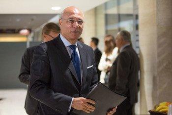 نائب المبعوث الأممي الخاص إلى سوريا رمزي عزالدين رمزي- المصدر: UN